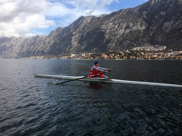 Rowing in Boka Bay – Ivica Mršulja