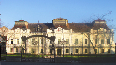 Bishop palace in Vrsac